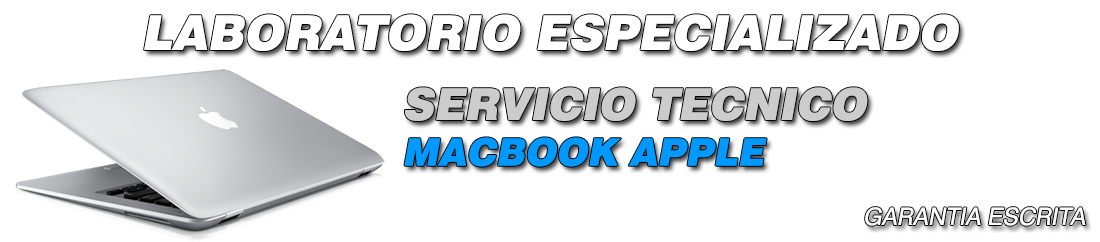 SERVICIO TECNICO MACBOOK APPLE